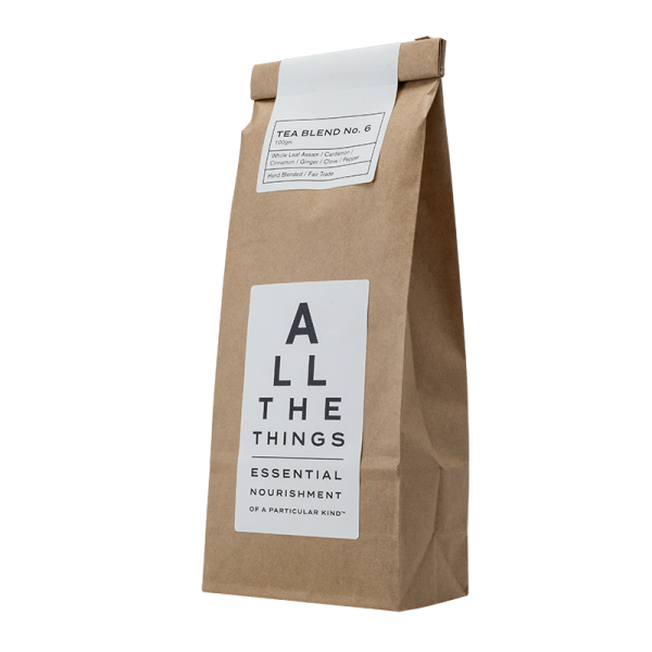 Buy Tea Blend No. 06 - Whole Leaf Assam / Cardamon / Cinnamon / Ginger / Clove / Pepper Online & Melbourne