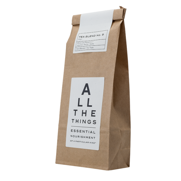 Buy Tea Blend No. 09 - Whole Leaf Peppermint / Liquorice / Fennel / Nettle Online & Melbourne